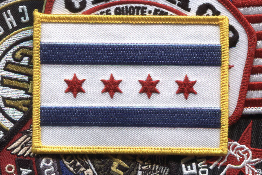 Chicago Patches by ICON Emblem